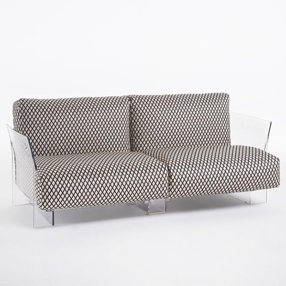 Pop Missoni Sofa Design Sofa Kartell 2 Or 3 Seats With: Design Sofa Kartell, 2 Or 3 Seats, With