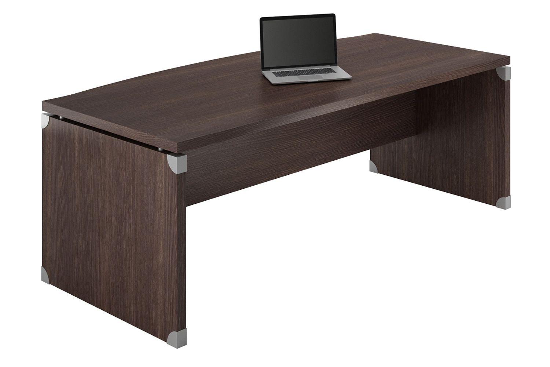 X time work 05 scrivania da ufficio in laminato for Bureau wenge