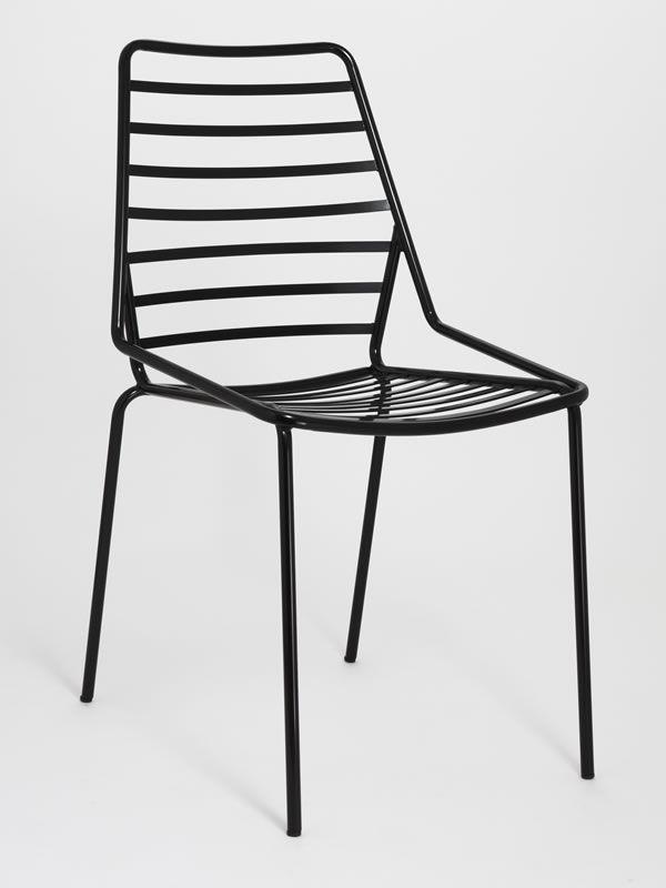 Elegant Link | Chair Black Colour