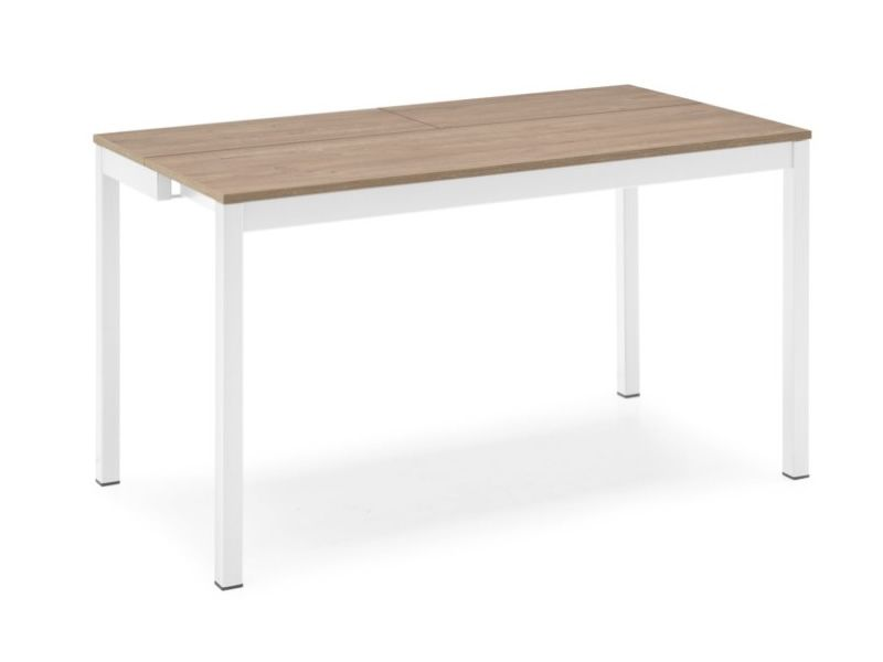 Cs4085 snap consolle table console calligaris en m tal for Table a rallonge console