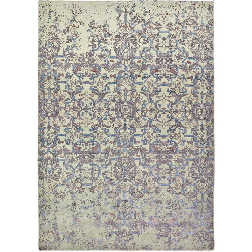 Krystal cielo tapis design en laine soie v g tale soie for Tapis italien design