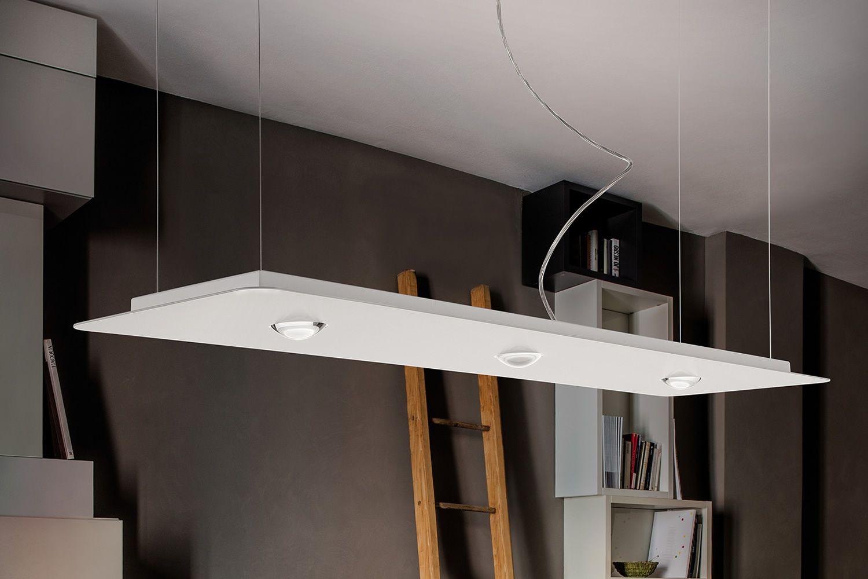 Frozen S: Lampe design à suspension, en métal, LED, disponible en différentes tailles - Sediarreda