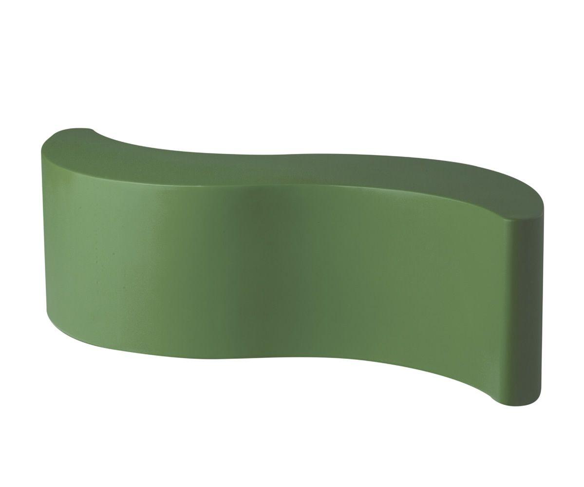 wave sitzbank slide aus polyethylen auch f r den garten auch mit beleuchtungssystem sediarreda. Black Bedroom Furniture Sets. Home Design Ideas