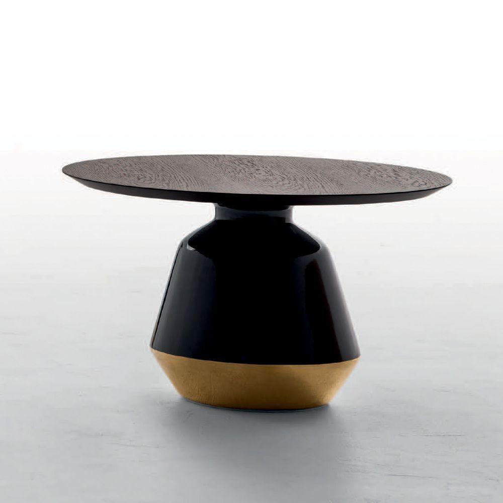 Amira 6273 - Tavolino basso Tonin Casa in ceramica e legno ...