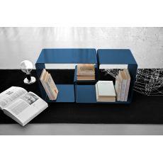Form Promo - Tavolino e portariviste modulare in metallo