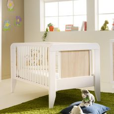 Anouk - Verwandelbares Babybett Pali aus Holz