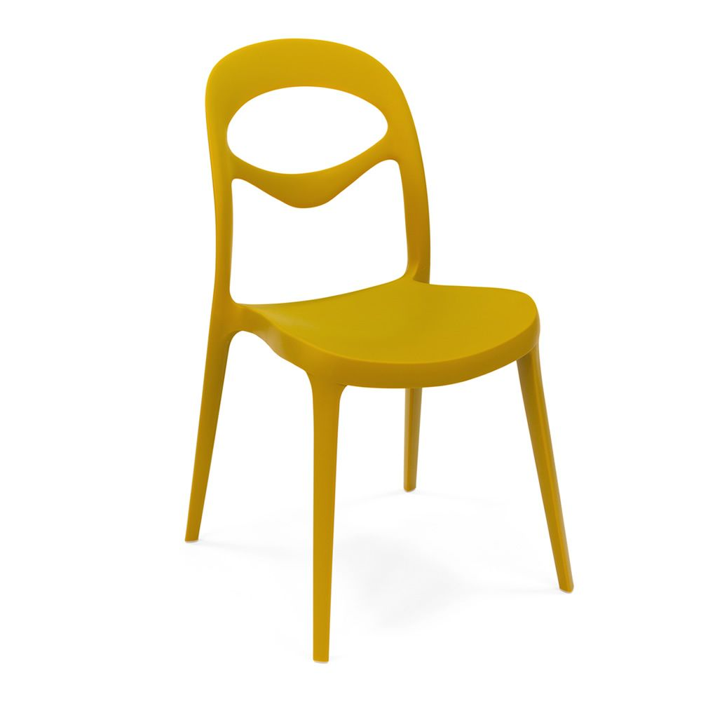 foryou chaise empilable domitalia en polypropyl ne en diff rentes couleurs aussi pour jardin. Black Bedroom Furniture Sets. Home Design Ideas