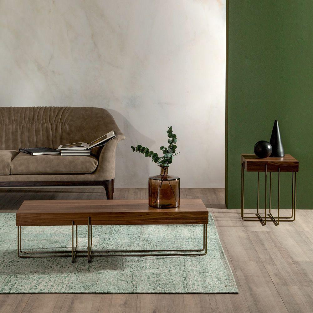 cruz 6879 table basse tonin casa avec structure en m tal. Black Bedroom Furniture Sets. Home Design Ideas