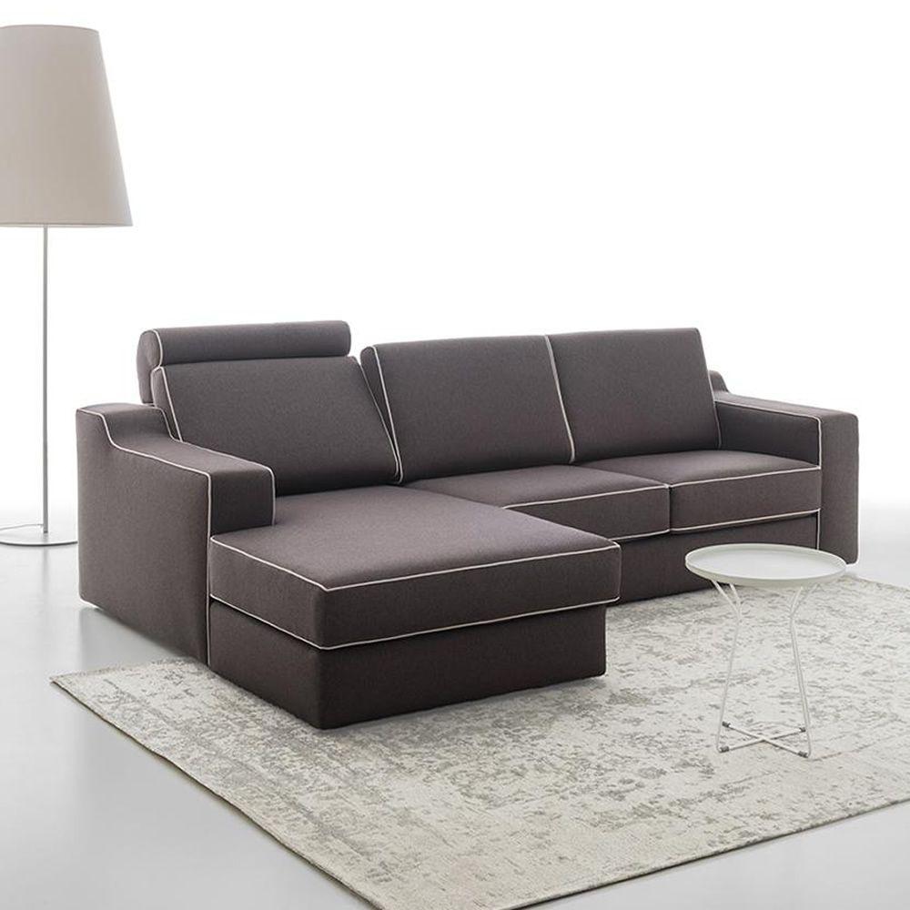 joan p 3 sitzer sofa mit chaiselongue ganz abziehbar in verschiedenen bez gen und farben. Black Bedroom Furniture Sets. Home Design Ideas