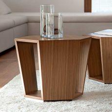 Diamonds - Tavolino da salotto Tonon in legno, diverse misure disponibili