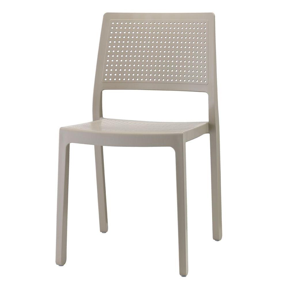 emi 2343 stuhl aus technopolymer stapelbar verschiedenen farben verf gbar f r den garten. Black Bedroom Furniture Sets. Home Design Ideas