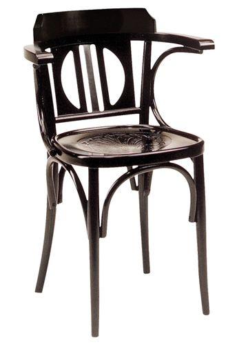 SE10035 | Chaise en bois avec accoudoirs