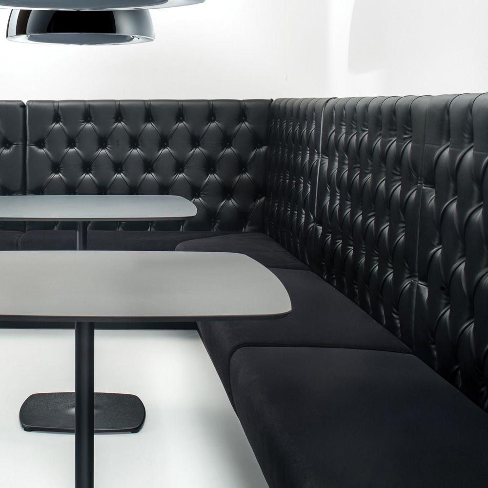 Vendita Panche Per Ristoranti.Modus Lineare Panca Modulare Imbottita Per Bar Con Vari