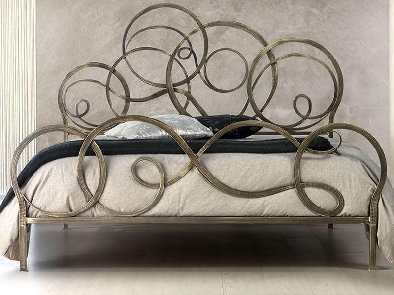 Azzurra - Letto matrimoniale in ferro battuto, disponibile in ...