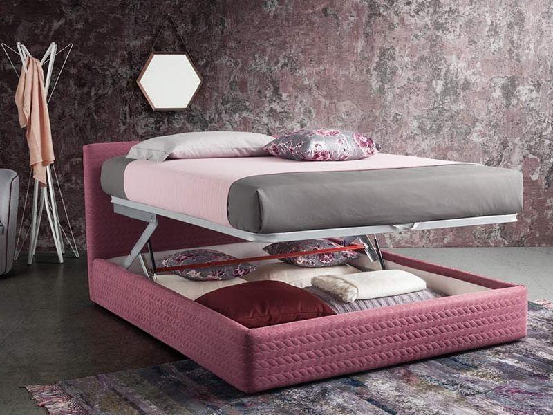 Misure letto matrimoniale con contenitore design per la casa