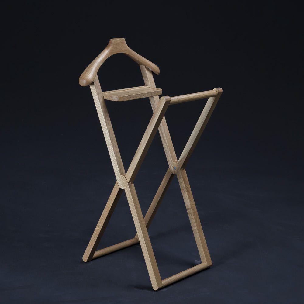 Treee niles servomuto in legno massello pieghevole - Portabiti in legno ...