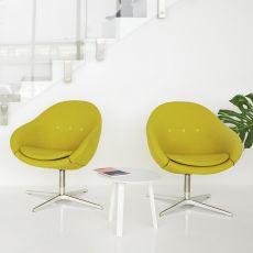 Kokon Club - Poltrona ergonomica girevole Kokon di Variér®, disponibile in diversi colori