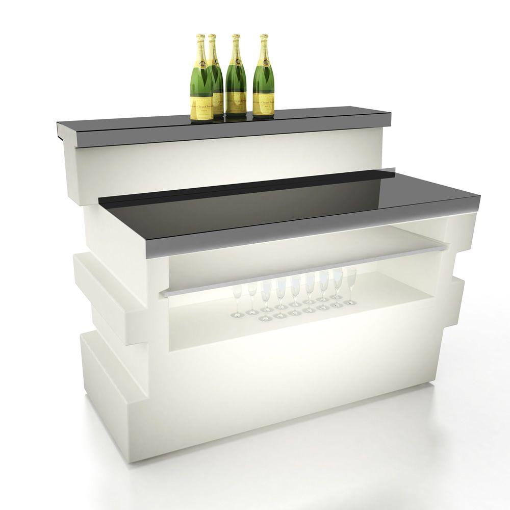 tetris f r bars und restaurants modultheke f r bars aus weissem polyethylen auch f r den. Black Bedroom Furniture Sets. Home Design Ideas