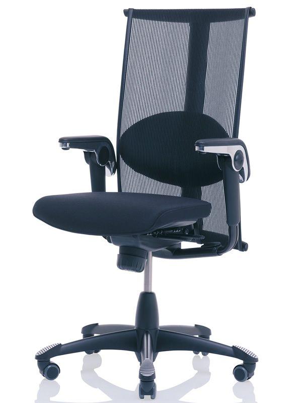 H09 inspiration sedia ufficio ergonomica h g con for Sedia ortopedica per ufficio