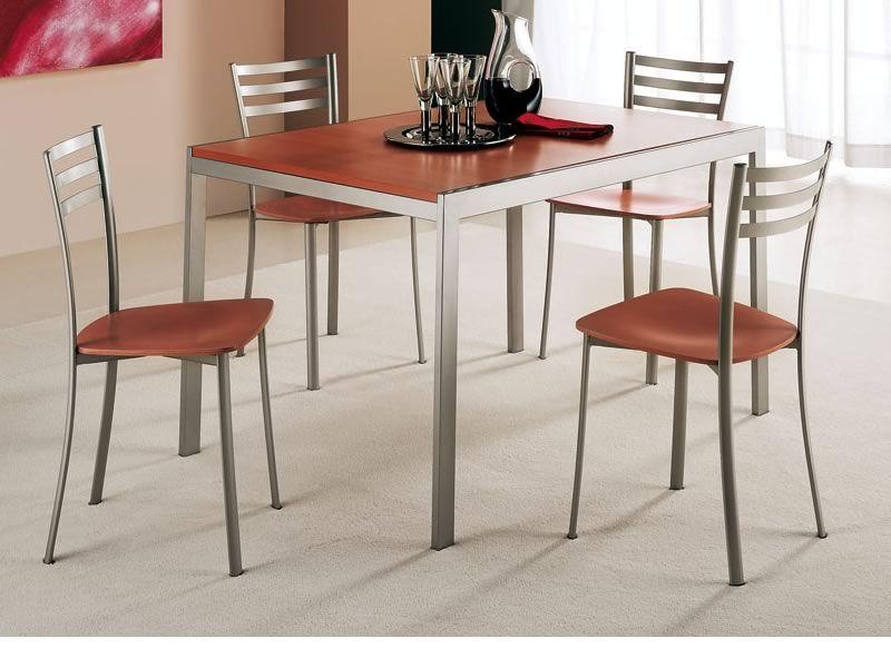 320 sedia in metallo disponibile con diverse sedute for Sedie cucina metallo
