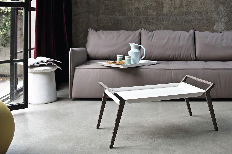 tiffany designer beistelltisch bontempi casa aus holz mit metallplatte in verschiedenen. Black Bedroom Furniture Sets. Home Design Ideas
