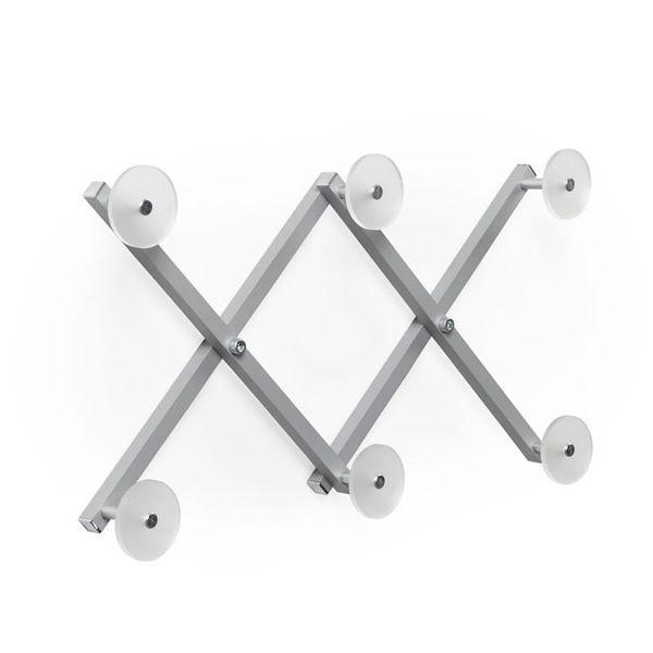 Xdue perchero de pared en aluminio y metacrilato en distintos colores sediarreda - Pared de metacrilato ...