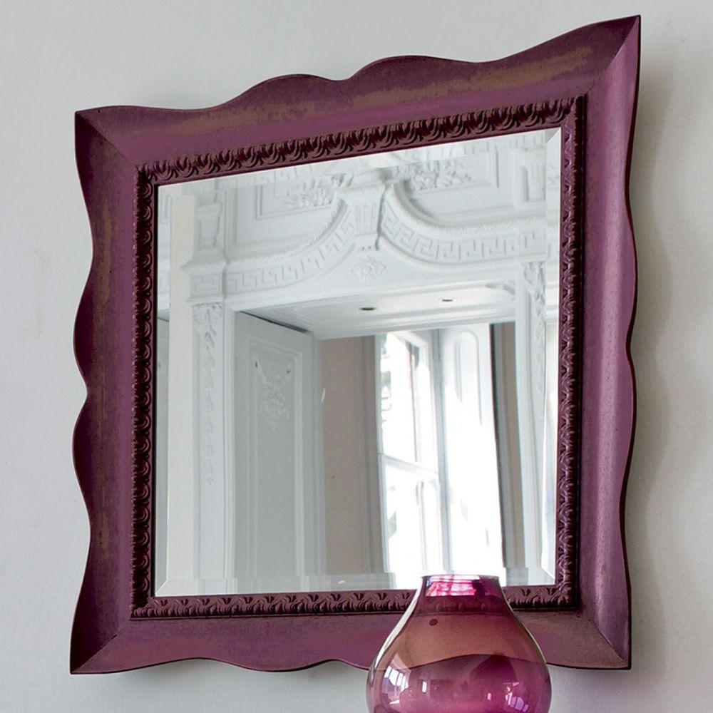 Marte 4955 espejo tonin casa con marco cl sico de madera for Marcos para espejos a medida