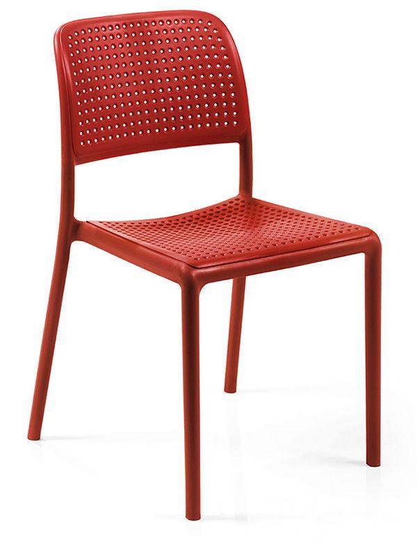 bora bistrot chaise en r sine avec fibre de verre empilable aussi pour jardin sediarreda. Black Bedroom Furniture Sets. Home Design Ideas