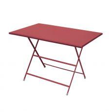 Arc En Ciel 334 - Metal table Emu, folding