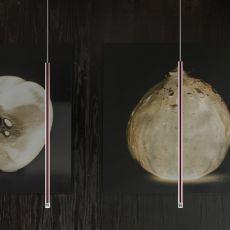 A-Tube Nano - Lampe design à suspension, en métal, LED, disponible en différentes couleurs et dimensions