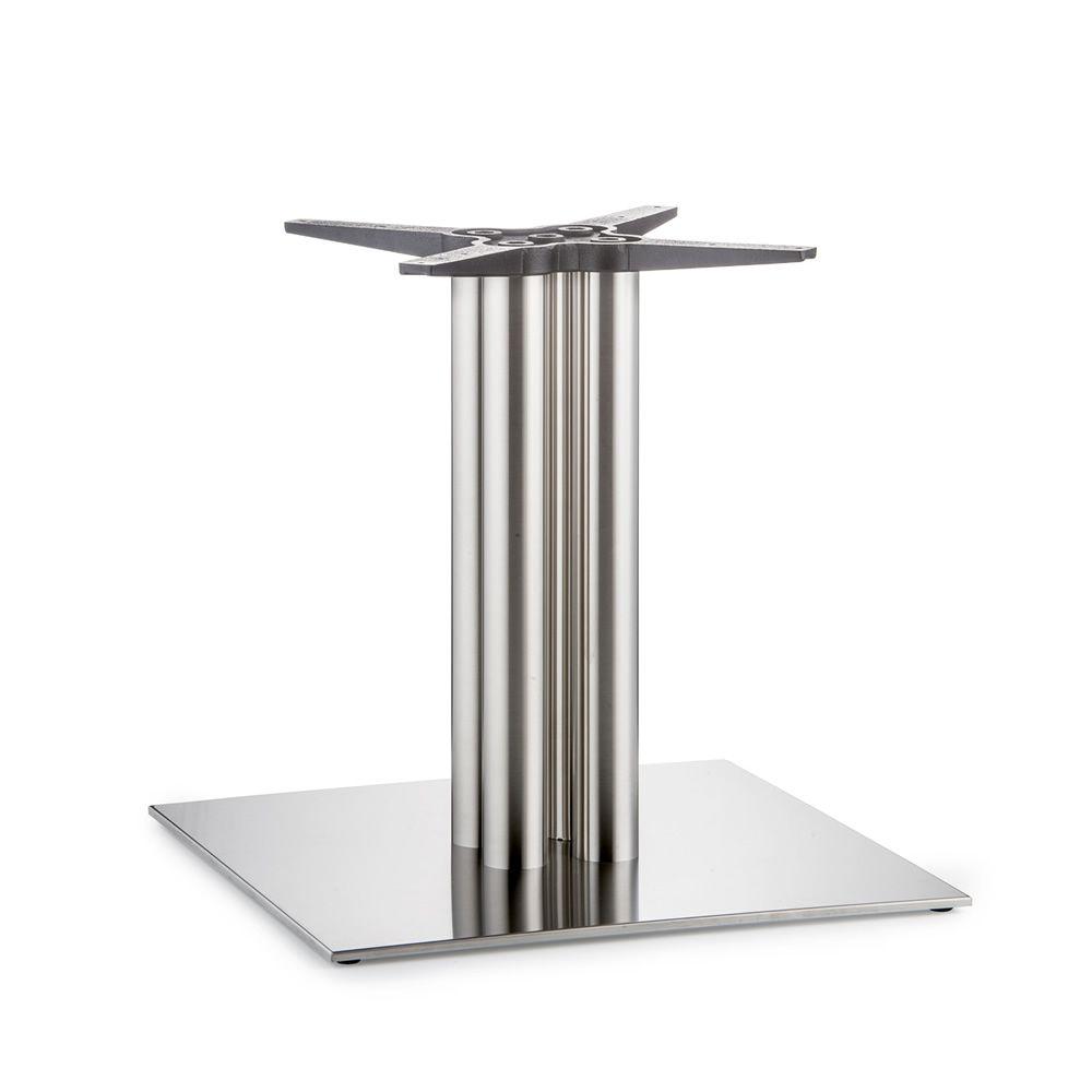 4499 inox per bar e ristoranti basamento per tavoli da - Tavoli in acciaio inox ...