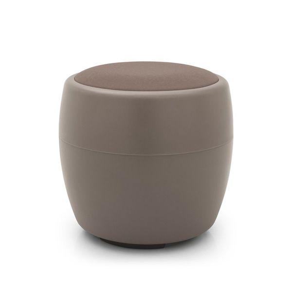 cb3307 candy pouf container connubia calligaris aus polyethylen und stoff in verschiedenen. Black Bedroom Furniture Sets. Home Design Ideas