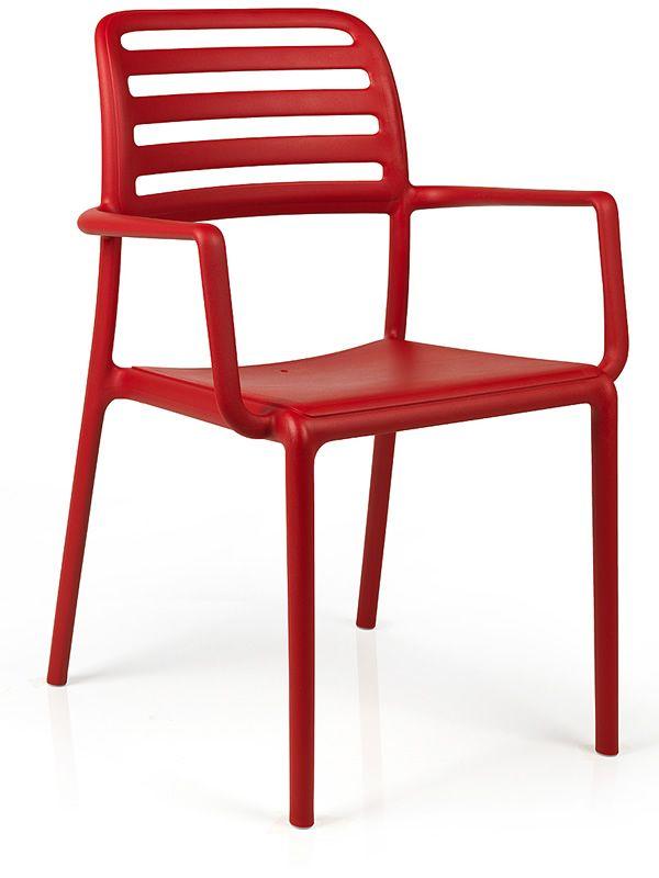 Costa fauteuil en r sine avec fibre de verre disponible - Fauteuil pour jardin ...