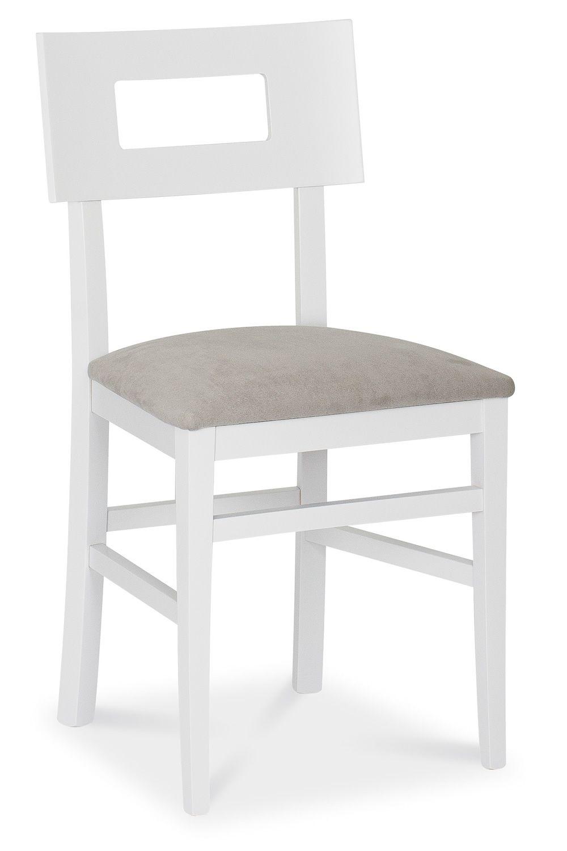 MU212 - Sedia in legno, diverse tinte disponibili, con sedile in ...