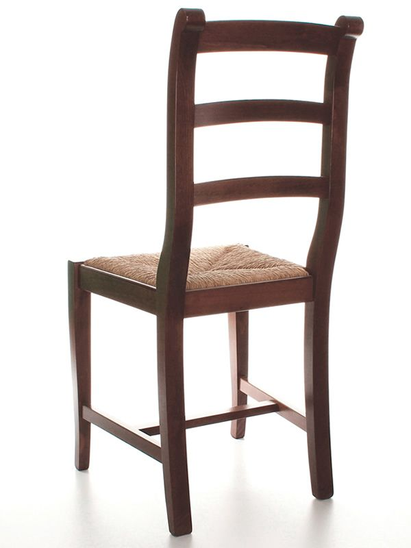 Mu84 country style chair in wood different dyes for Types of wooden chairs