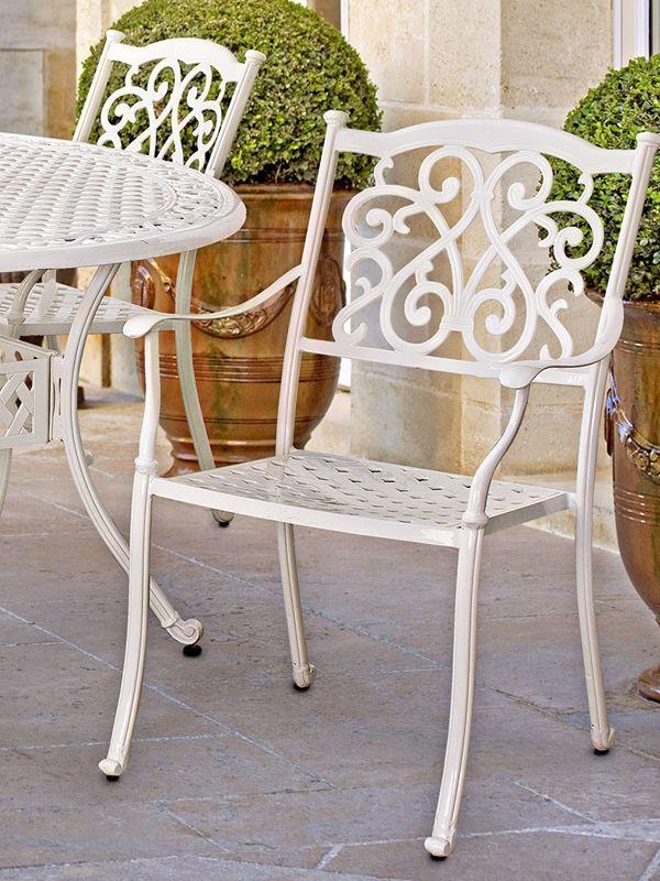 castello sessel aus aluminium f r garten sediarreda. Black Bedroom Furniture Sets. Home Design Ideas
