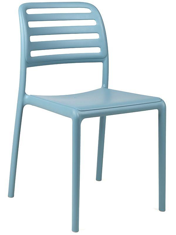 costa bistrot pour bars et restaurants chaise en r sine de fibres de verre empilable en. Black Bedroom Furniture Sets. Home Design Ideas