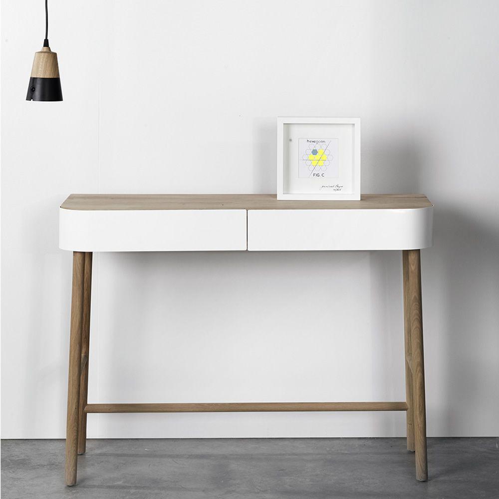 Hall consolle universo positivo in legno con cassetti in for Consolle con cassetti