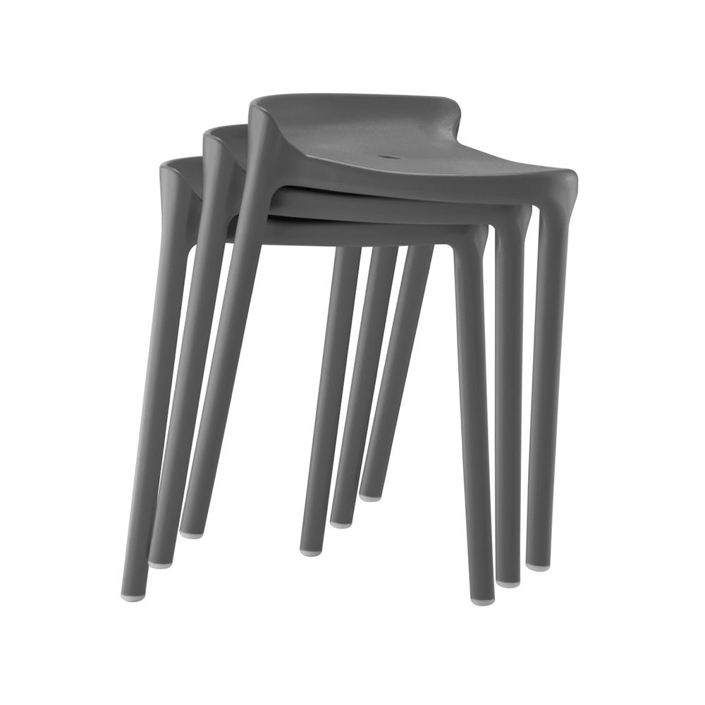 happy 491 f r bars und restaurants niedriger hocker f r bars aus polypropylen stapelbar. Black Bedroom Furniture Sets. Home Design Ideas