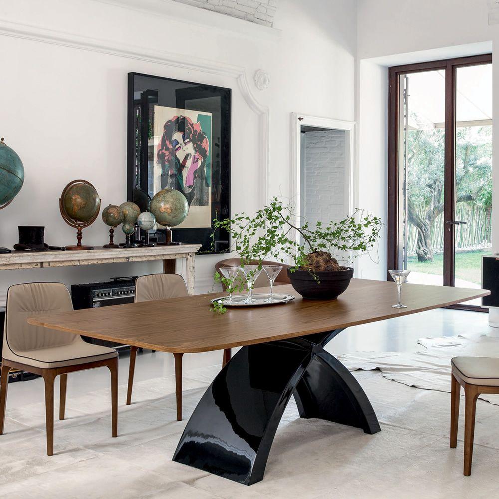Tokyo l 6951 feststehender tisch tonin casa aus for Tisch aus marmor