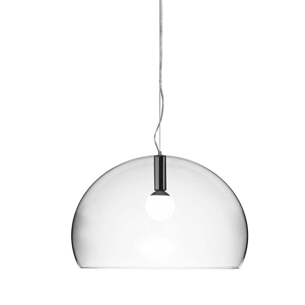 Fl y big lampada a sospensione kartell di design in for Lampada ufficio design