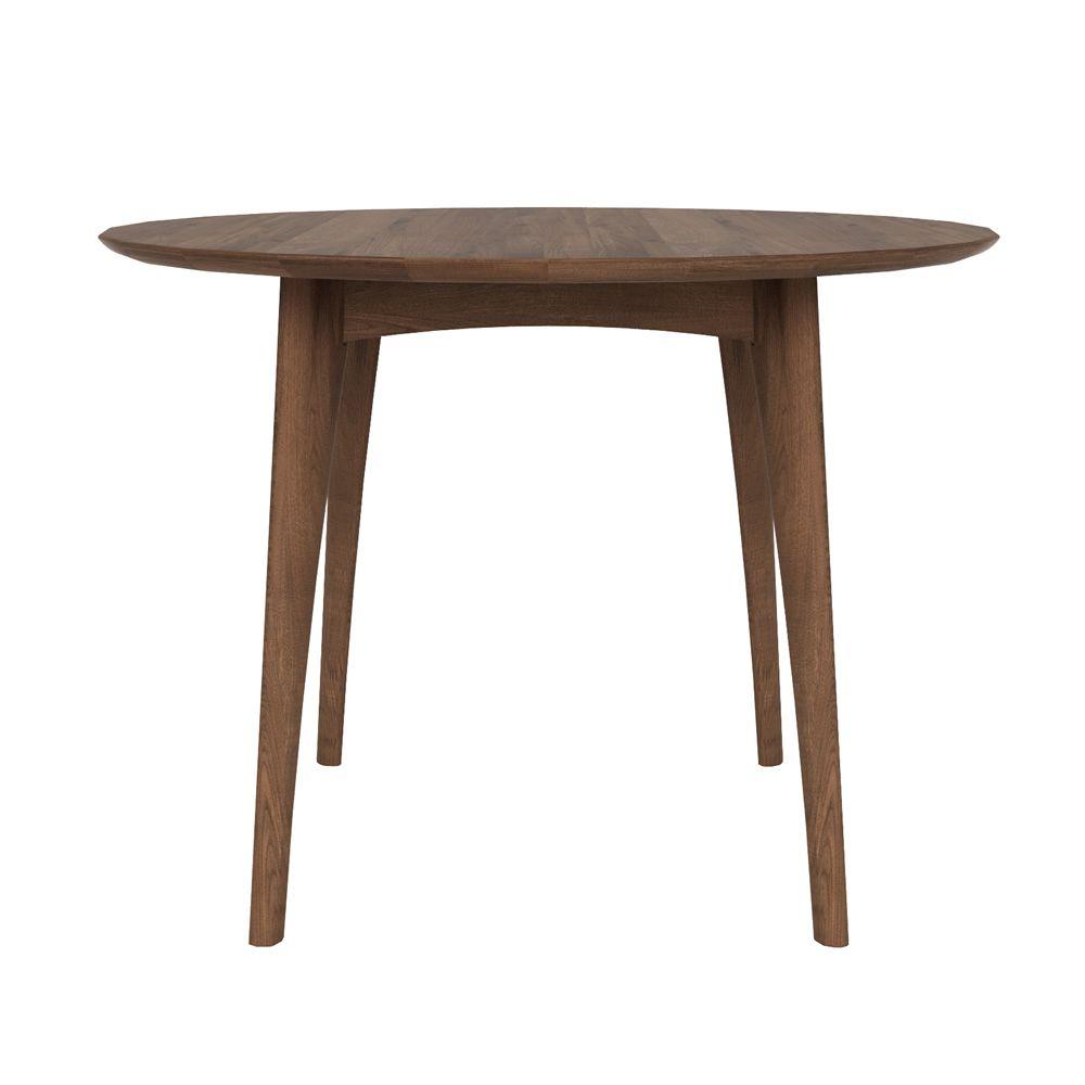 osso h hoher tisch ethnicraft aus holz in verschiedenen ausf hrungen verf gbar rundere platte. Black Bedroom Furniture Sets. Home Design Ideas