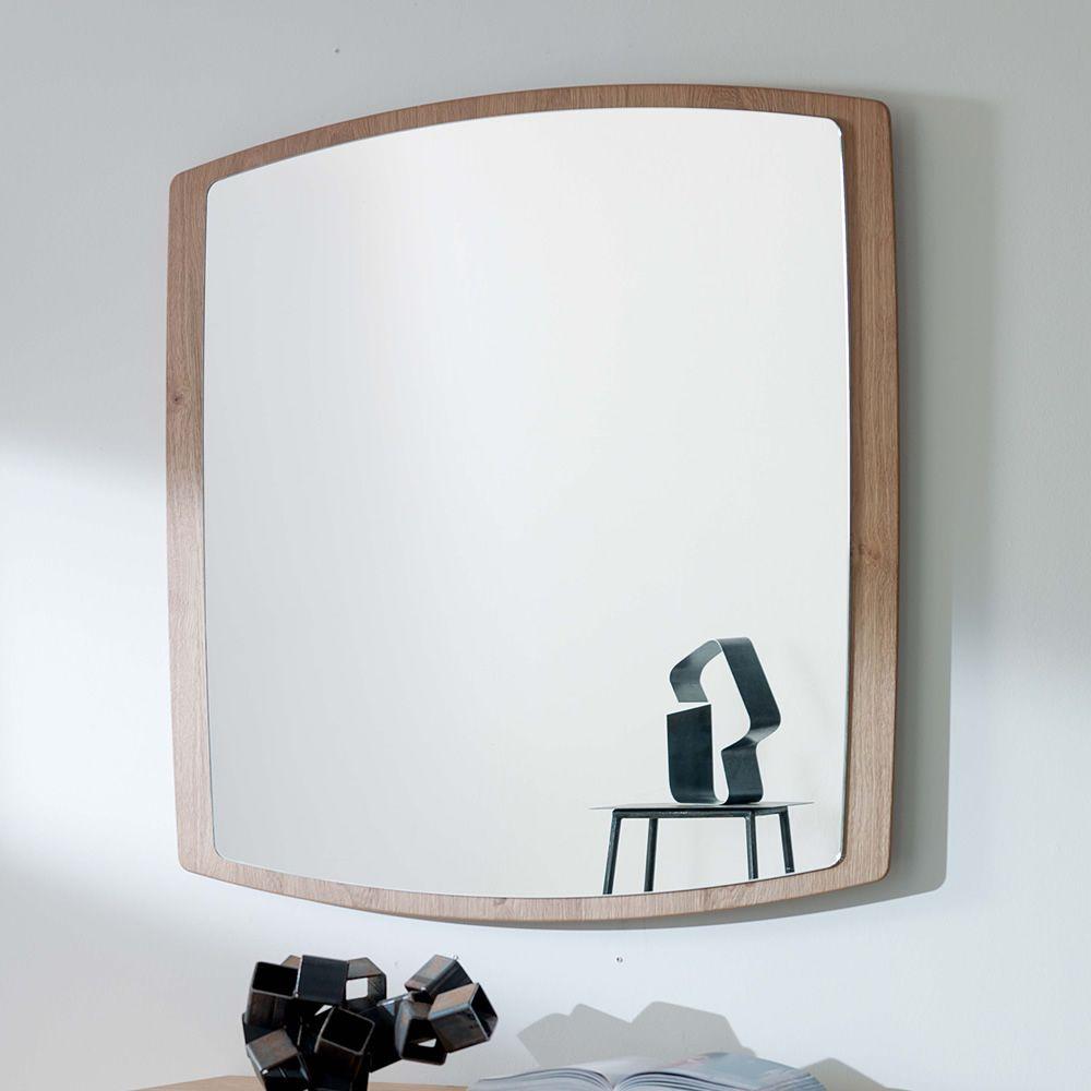 Boat: Moderner Spiegel mit Rahmen aus MDF, viereckig 90x90cm ...