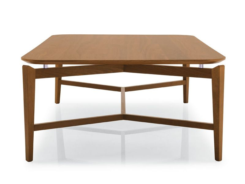 Cs5055 r symbol calligaris modern coffee table in wood for Table 120x80