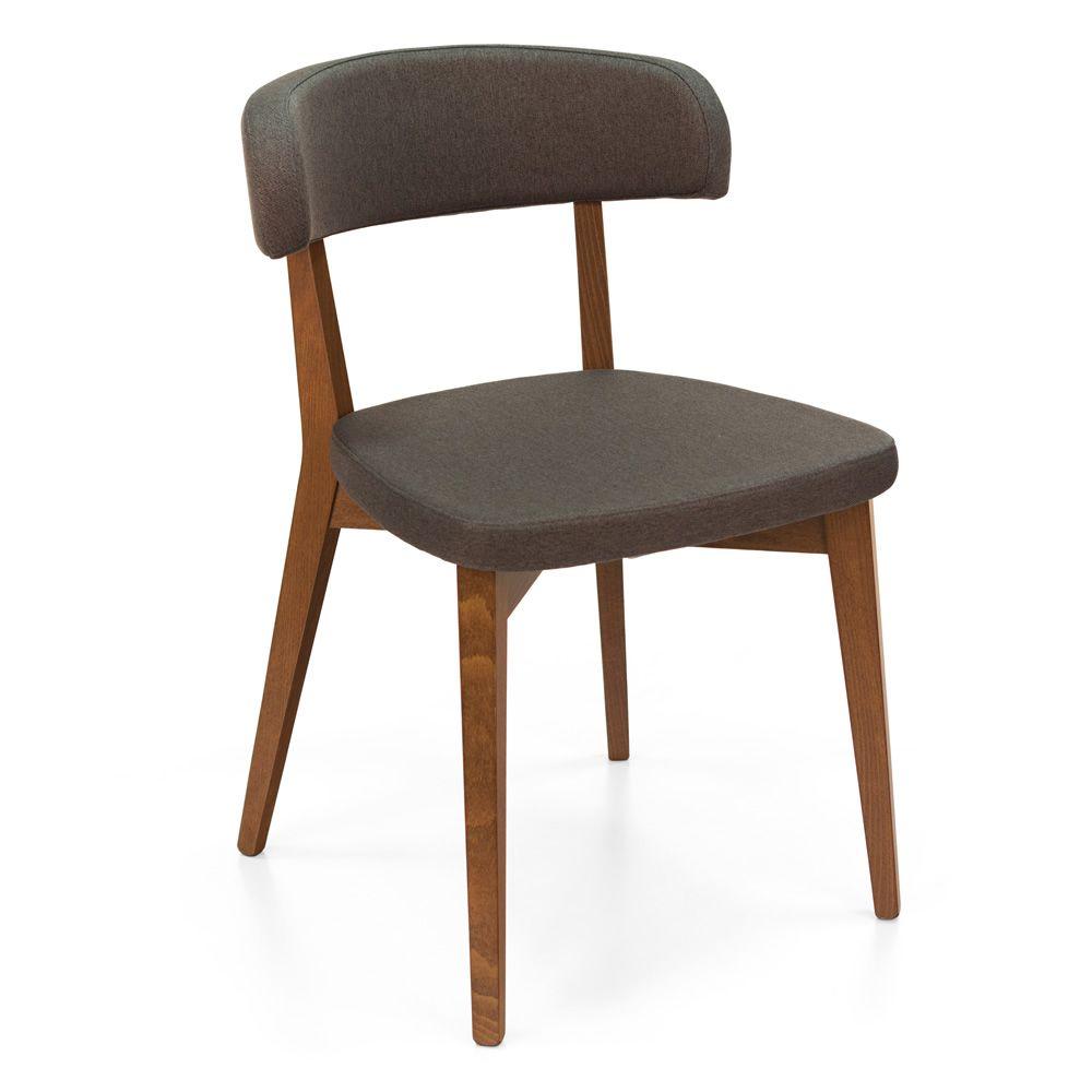 cb1536 siren gepolsterter holzstuhl connubia calligaris bezug aus kunstleder oder stoff in. Black Bedroom Furniture Sets. Home Design Ideas
