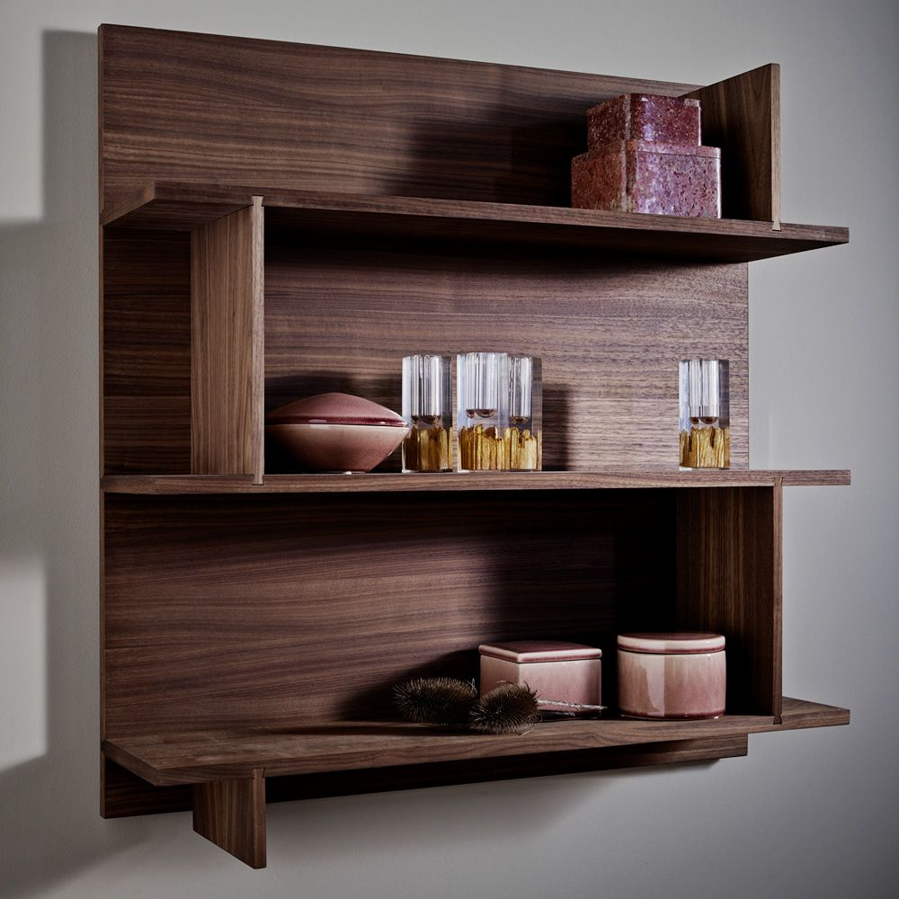 track rack biblioth que murale modulaire en bois sediarreda. Black Bedroom Furniture Sets. Home Design Ideas