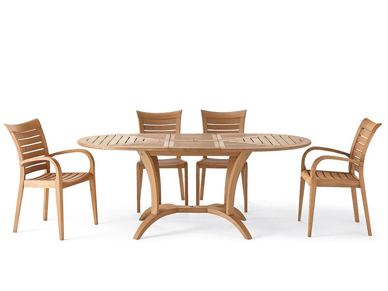 Mirage b fauteuil pour jardin en bois robinier sediarreda for Casa fauteuil jardin