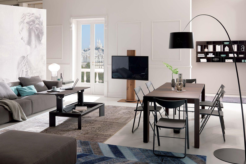 Uno mobile porta tv plasma lcd con altezza regolabile - Tavoli design low cost ...