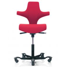 Capisco ® 8126 - Silla ergonómica de HÅG para oficina, también con reposacabezas