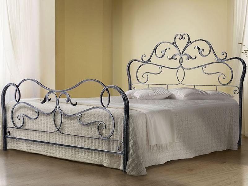 Rubens cama matrimonial de hierro forjado disponible en for Cama hierro